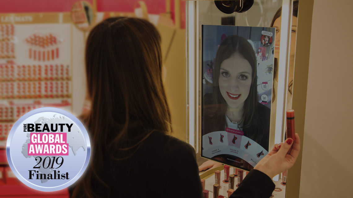 Holition x Coty x Bourjois x Perch Interactive Blended Reality Magic Mirror